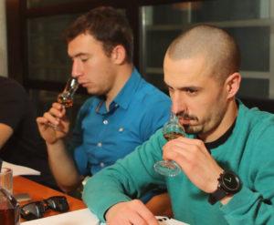 Nosing and Tasting Whiskey